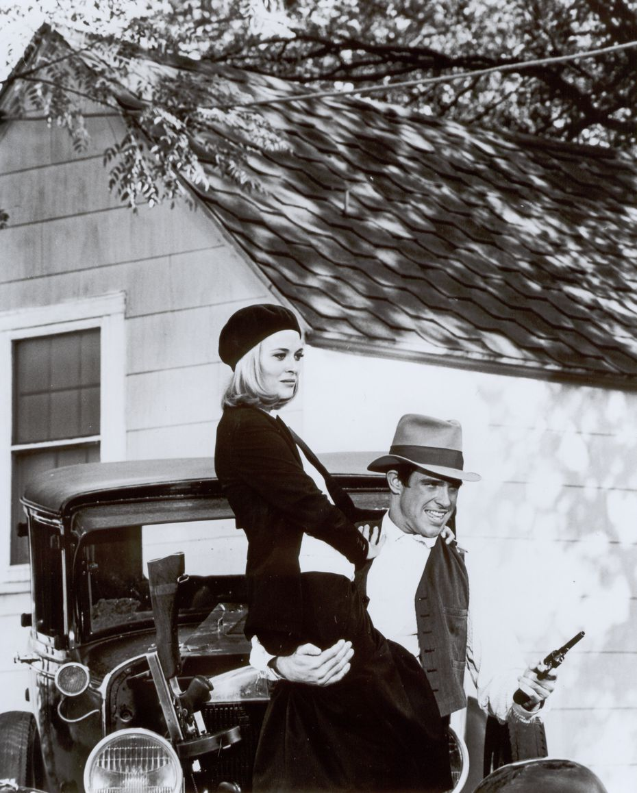 Faye Dunaway and Warren Beatty in 1967's 'Bonnie and Clyde'  (The Dallas Morning News Archives)