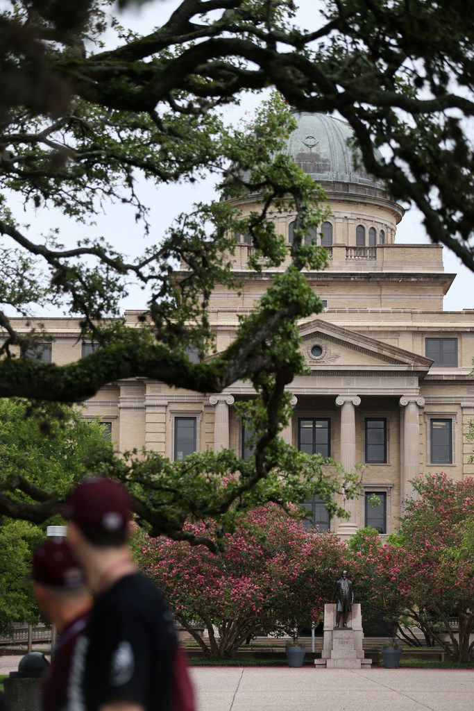 The Academic Building on the Texas A&M campus in College Station on June 20, 2018. The school joins a long list of universities nationwide that have struggled with the difficult task of adjudicating serious sex-related crimes in an academic setting.