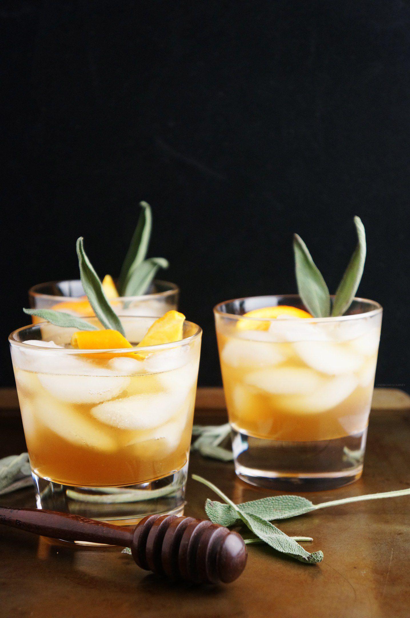 Honey Winter Bourbon Cocktail