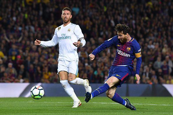 Lionel Messi y el Barcelona podrían jugar en Estados Unidos un partido de temporada regular de la liga española.  (Photo by David Ramos/Getty Images)