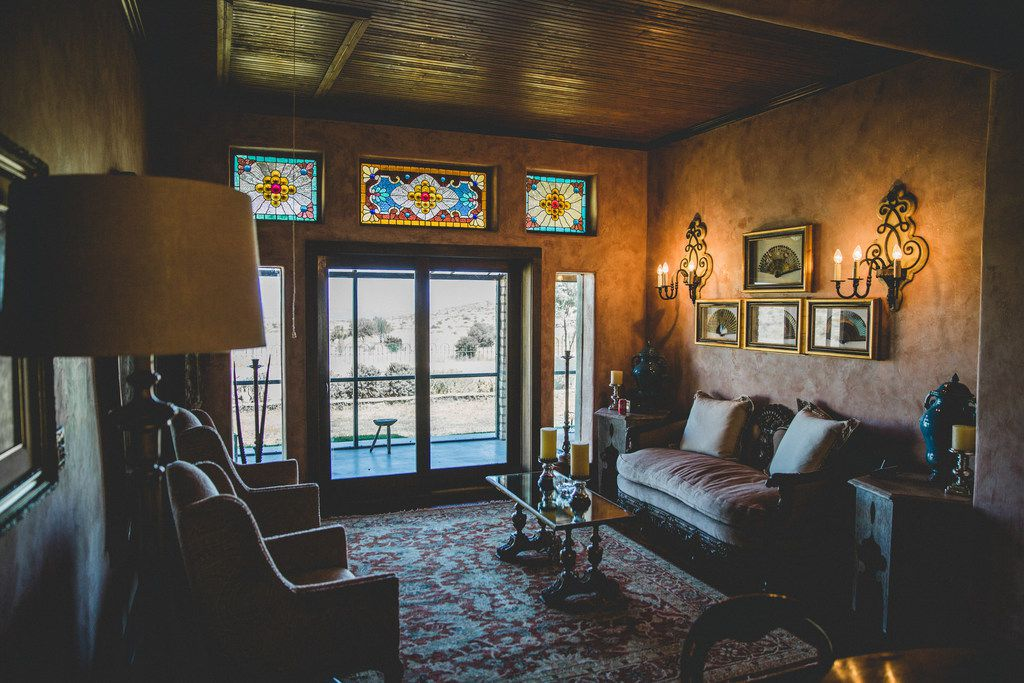 Maravillas Ranch near Marathon, Texas, offers six bedrooms and four bathrooms and sleeps up to 20 people.