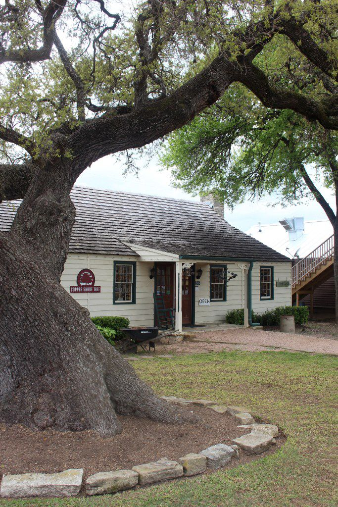 Copper Shade Tree art gallery in Round Top