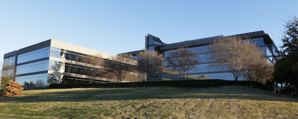 McKesson is buying the former NEC America complex at the northeast corner of State Highways 114 and 161 in Irving. (David Woo/Staff Photographer)