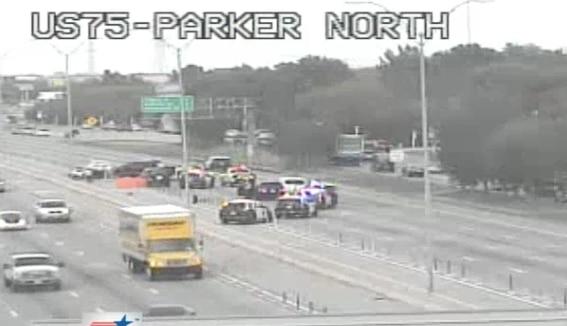 Cierran US-75 por accidente en Central Expressway en Plano,