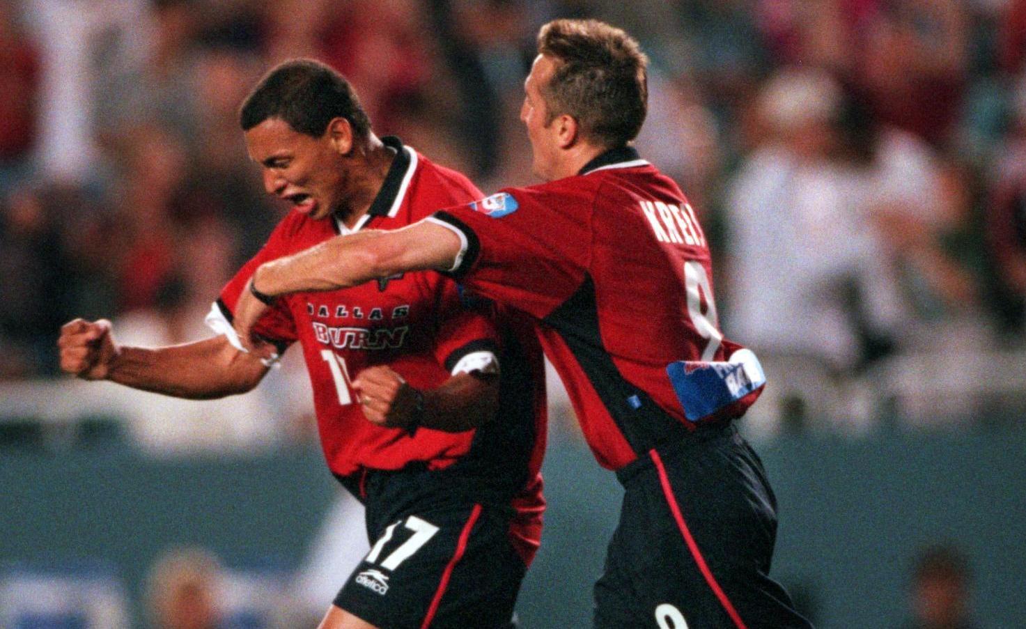 """Jorge Rodríguez (17) fue una de las figuras del Dallas Burn en sus primeros años en la MLS. """"Zarco"""" anotó el gol que le dio el primer título a la franquicia hace exactamente 20 años. (ARCHIVO DMN/DMN)"""