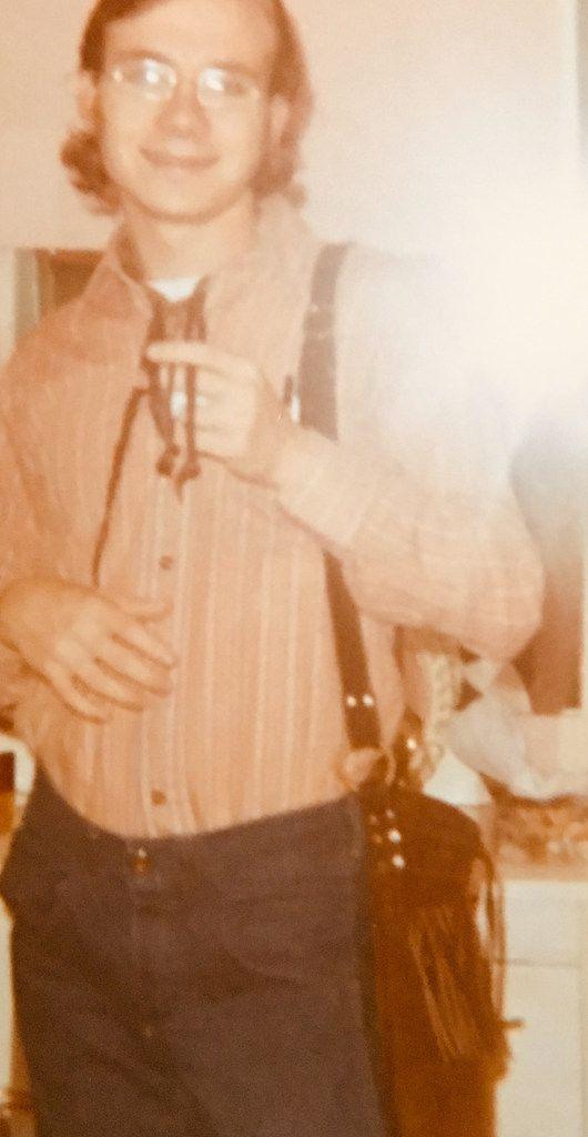 Joe Goldblatt, as he looked in 1969, when he attended the Lewisville pop festival. (Joe Goldblatt)