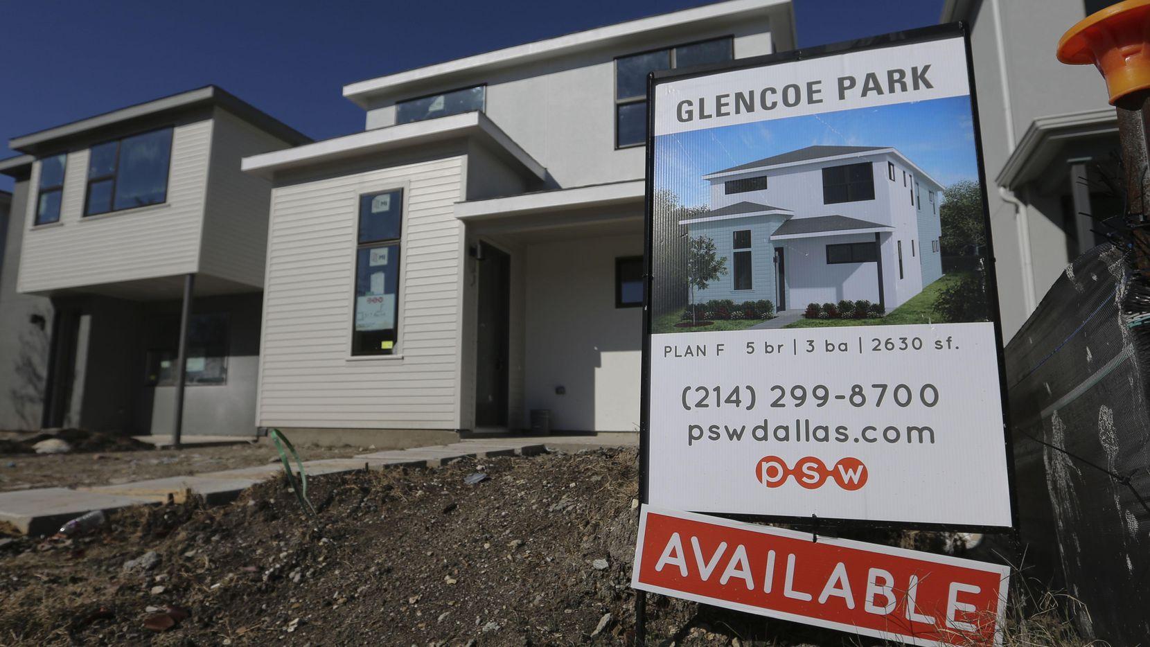 Algunos expertos afirman que el mercado de casas en Dallas está sobresaturado. (DMN/RON BASELICE)