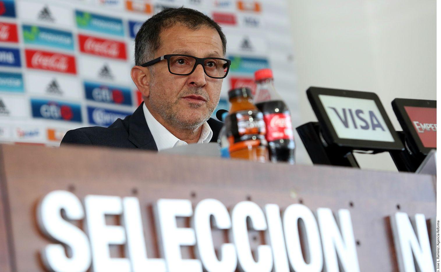 Juan Carlos Osorio, DT del Tri. Foto AGENCIA REFORMA