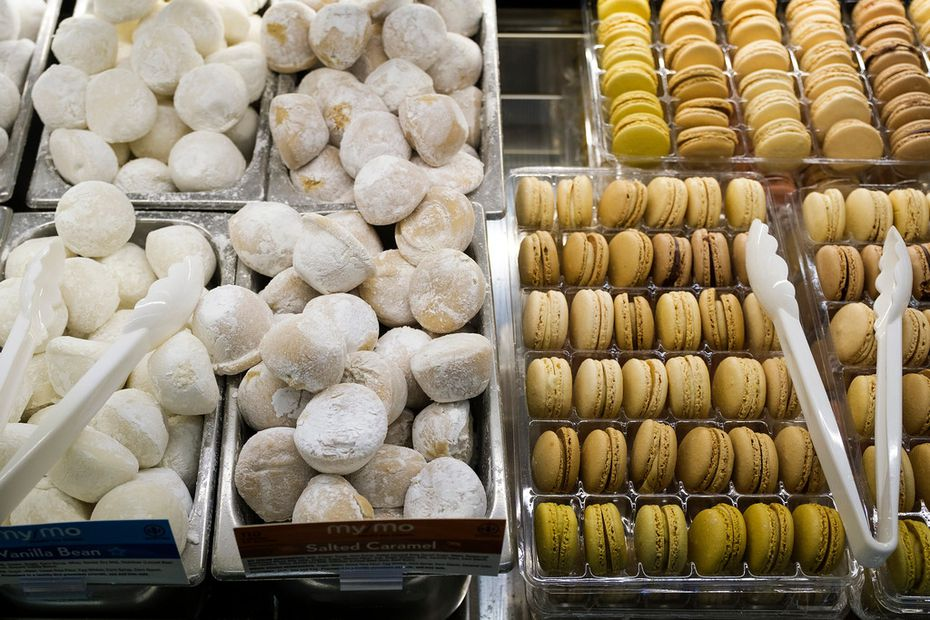 Macarons & Mochi Bar at the new Tom Thumb at the Union on Wednesday, April 10, 2019, in Dallas. (Smiley N. Pool/The Dallas Morning News)
