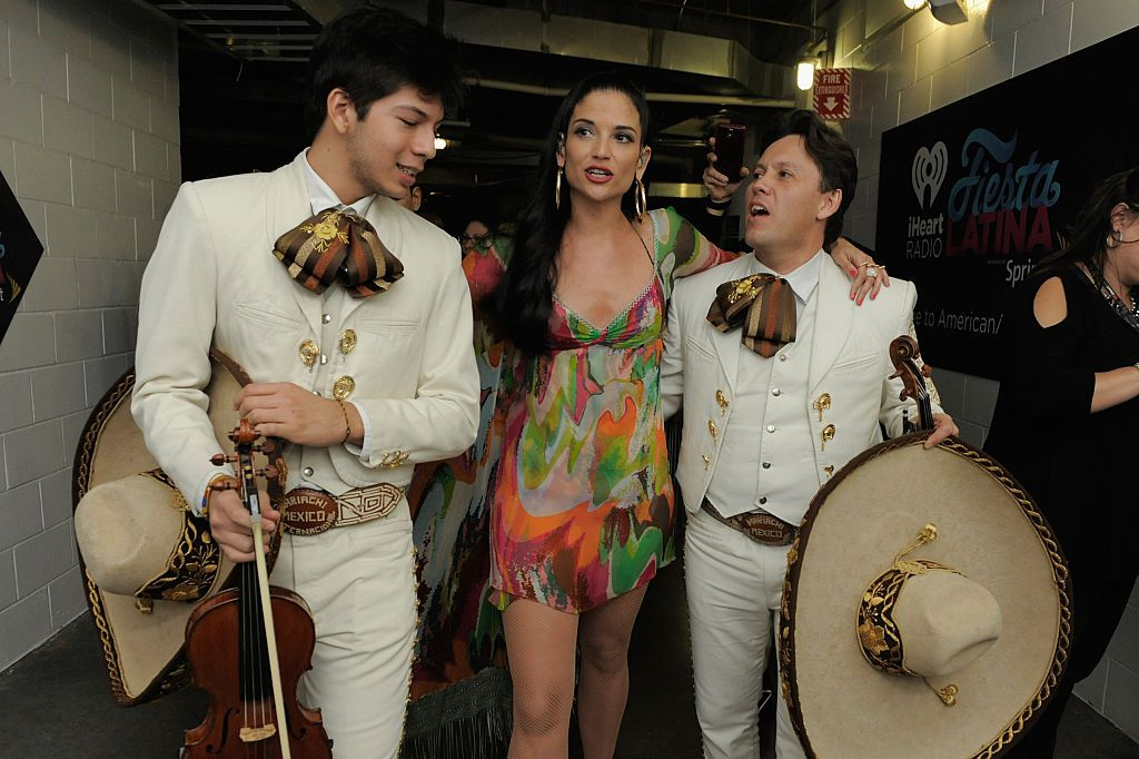 Natalia Jiménez en menos de un mes grabará un álbum de rancheras con mariachis  (Sergi Alexander/Getty Images for iHeartMedia)