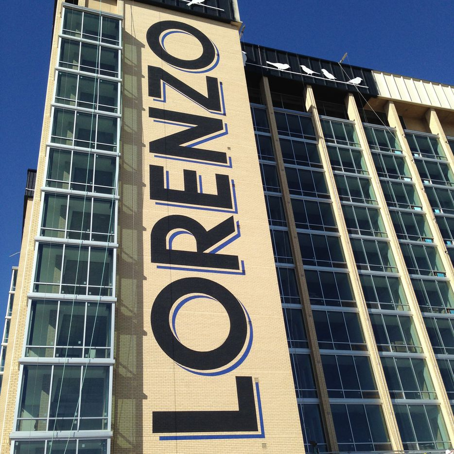 The Lorenzo Hotel is on South Akard Street on the edge of downtown.