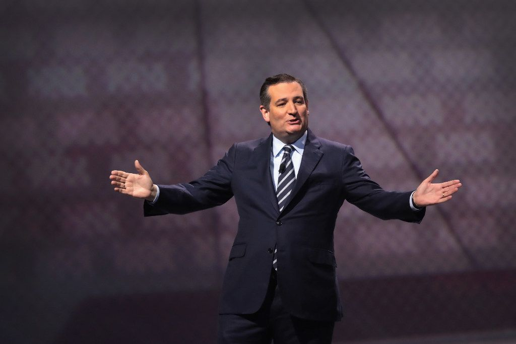 Sen. Ted Cruz won't have to worry about having Joaquin Castro as an opponent in 2018. (Scott Olson/Getty Images)