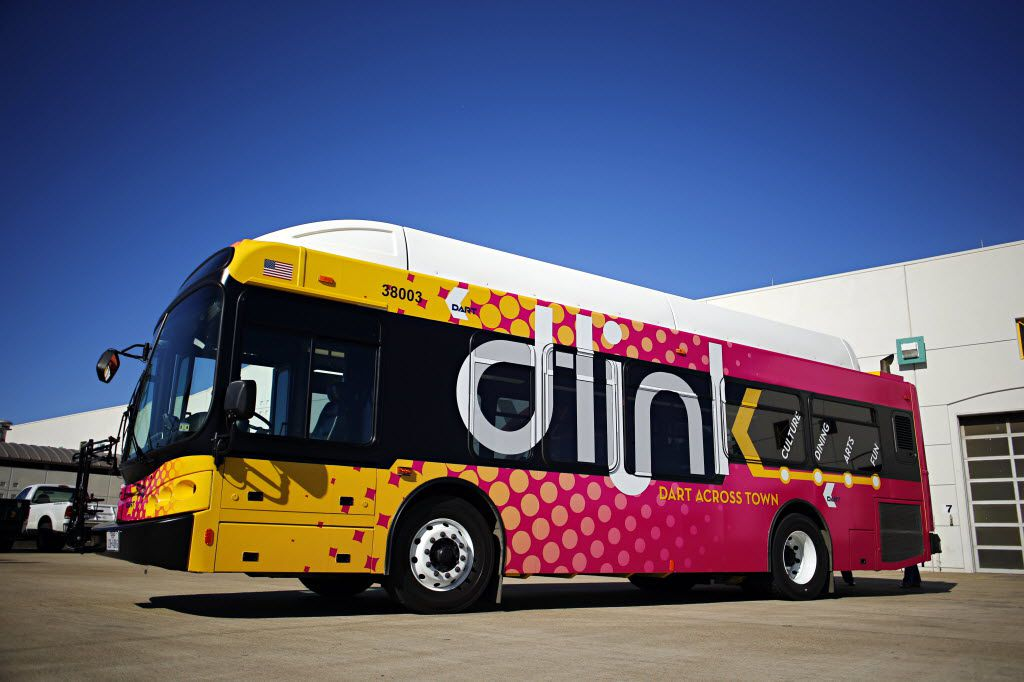 DART's D-Link service will add seven electric buses by the end of March.