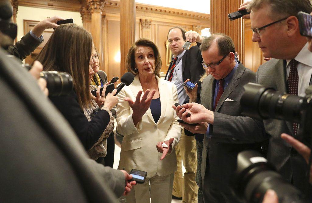 Nancy Pelosi./AP