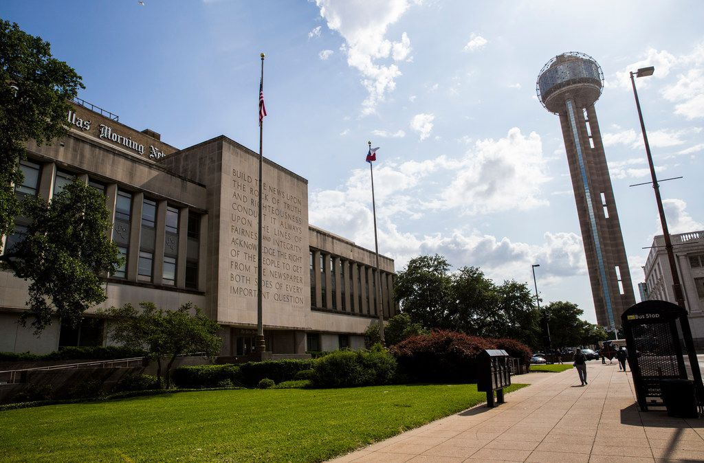 The former Dallas Morning News headquarters was sold for $28 million to Charter DMN Holdings.