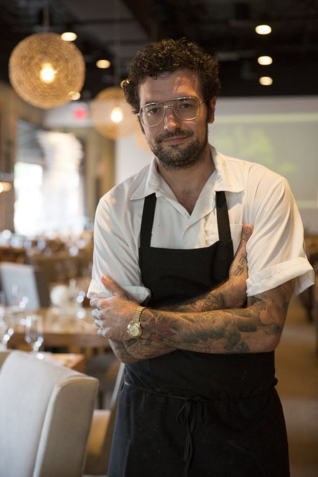 Chef de cuisine Ross Demers has worked with John Tesar for years, including at the erstwhile Spoon Kitchen and Bar.