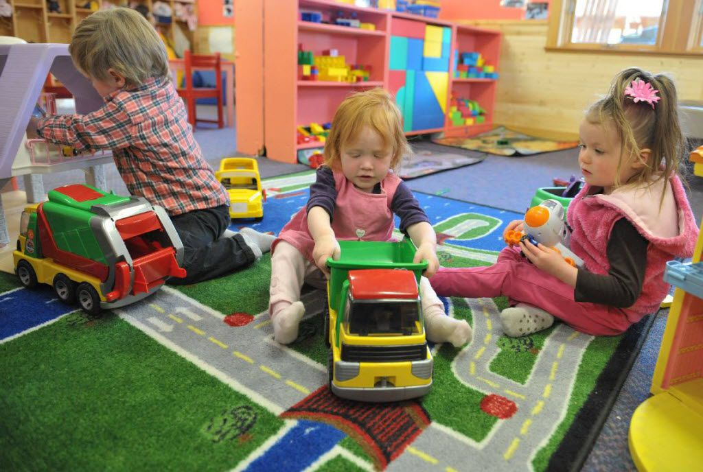 Child care centers have to follow guidelines on nutrition and activity, but a coalition of health care groups says they don't go far enough.