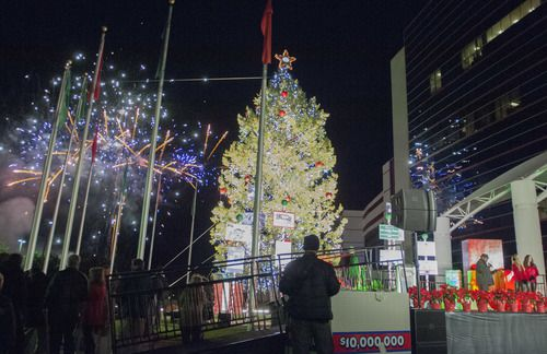 El Texas Motor Speedway ilumina un árbol navideño del Speedway Children's Charities (DMN)