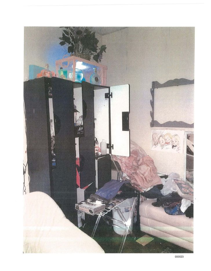 Photos taken by the city of Dallas and submitted in court documents show rooms inside the Zone d'Erotica building in northwest Dallas. The city says the business allows people to live at the adult store and rents rooms to customers looking for a private place to watch pornography.