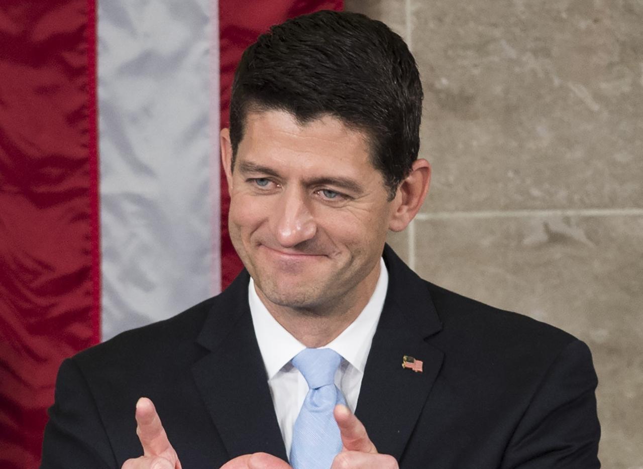 Paul Ryan, recientemente elegido como presidente del Congreso, rechazó de plano una reforma migratoria mientras Barack Obama sea presidente. (AFP/GETTY IMAGES/SAUL LOEB)