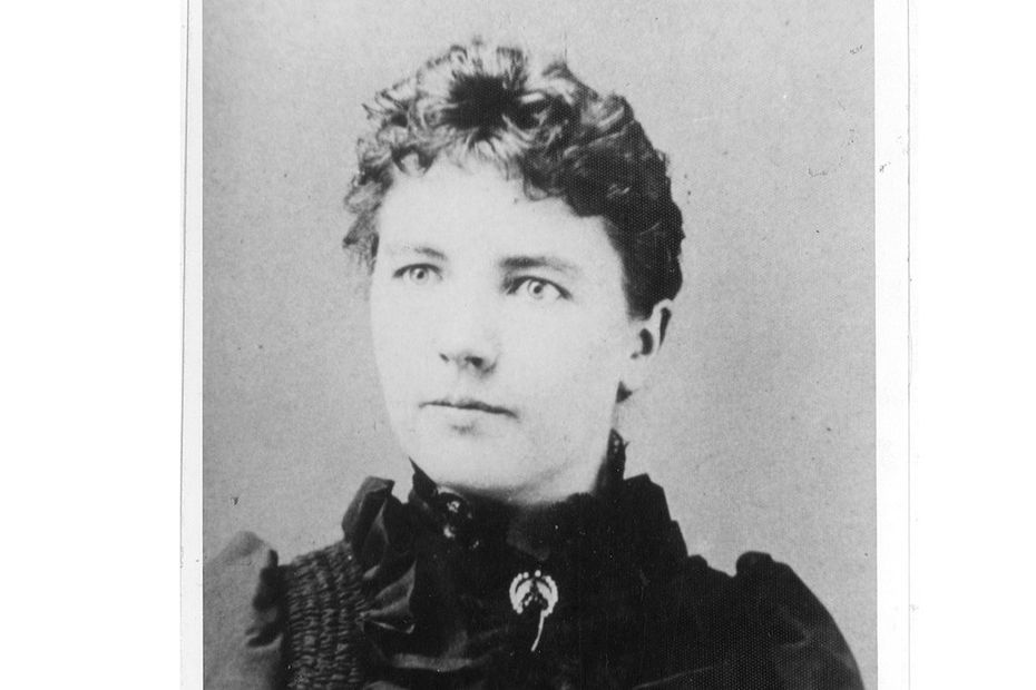 Laura Ingalls Wilder in an image provided by the South Dakota Historical Society.