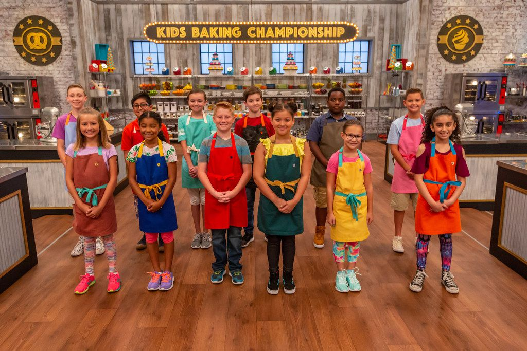 """The colors might be playful but these kids are doing anything but playing as they contend for the title in the sixth season of """"Kids Baking Championship."""" The season premieres Jan. 7 on Food Network."""