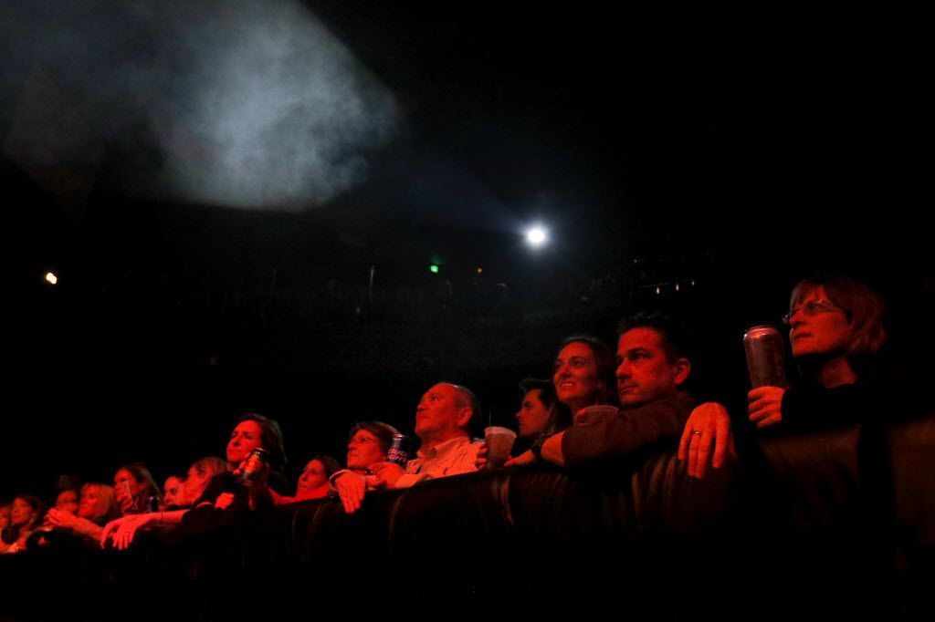 The audience watches as Brandy Clark performs at the House of Blues in Dallas on Thursday, Dec. 3, 2015. (Rachel Woolf/The Dallas Morning News)