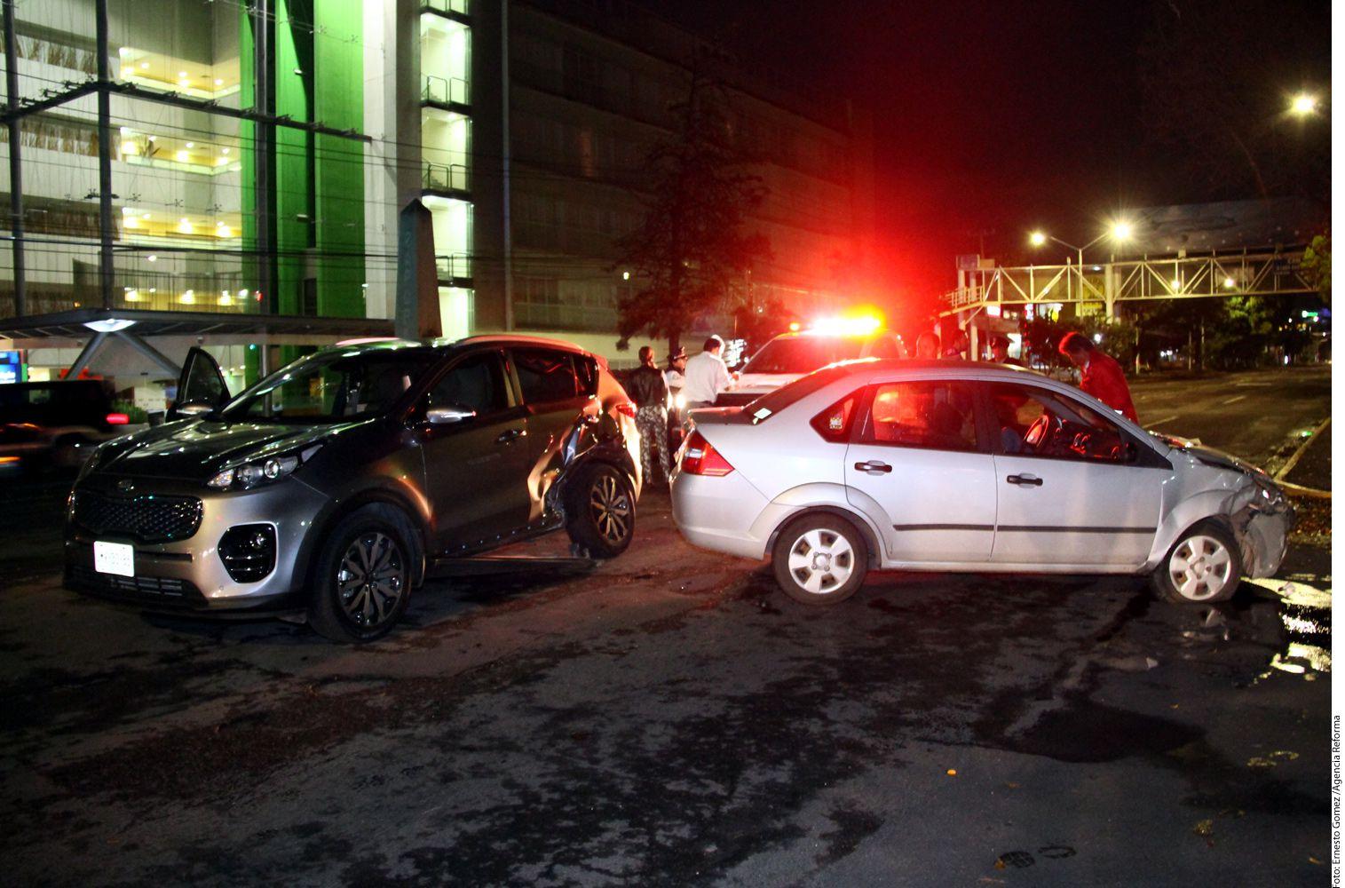 Imagen del accidente. AGENCIA REFORMA