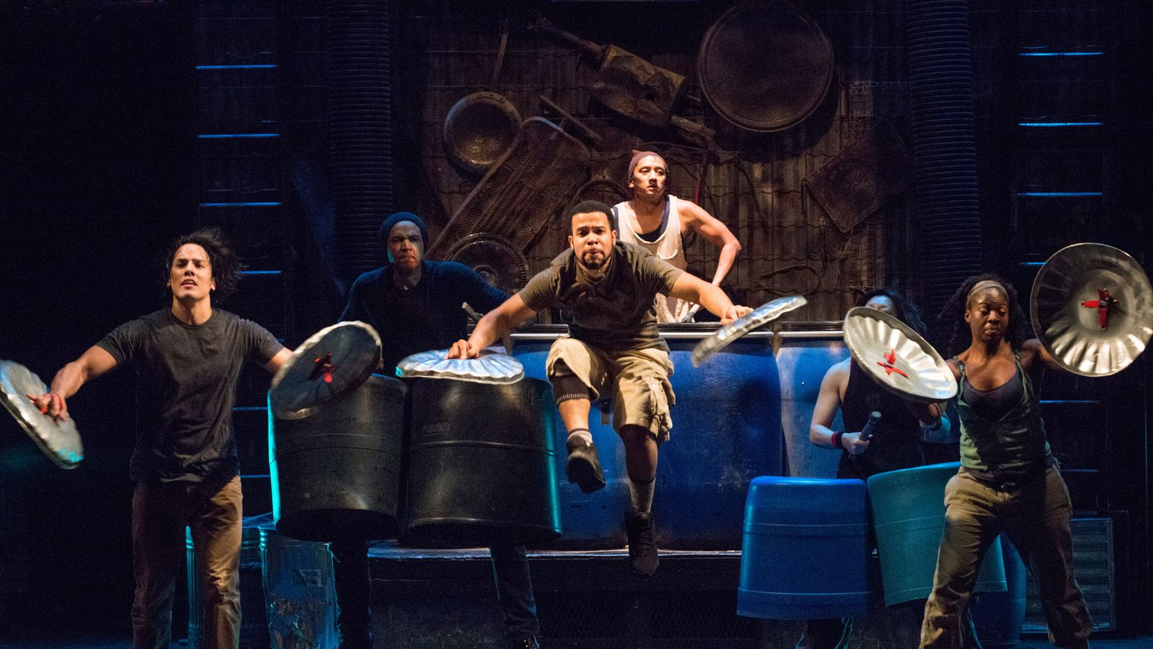 """STOMP"" will be presented by Dallas Summer Musicals Feb. 14-19 at Fair Park Music Hall."