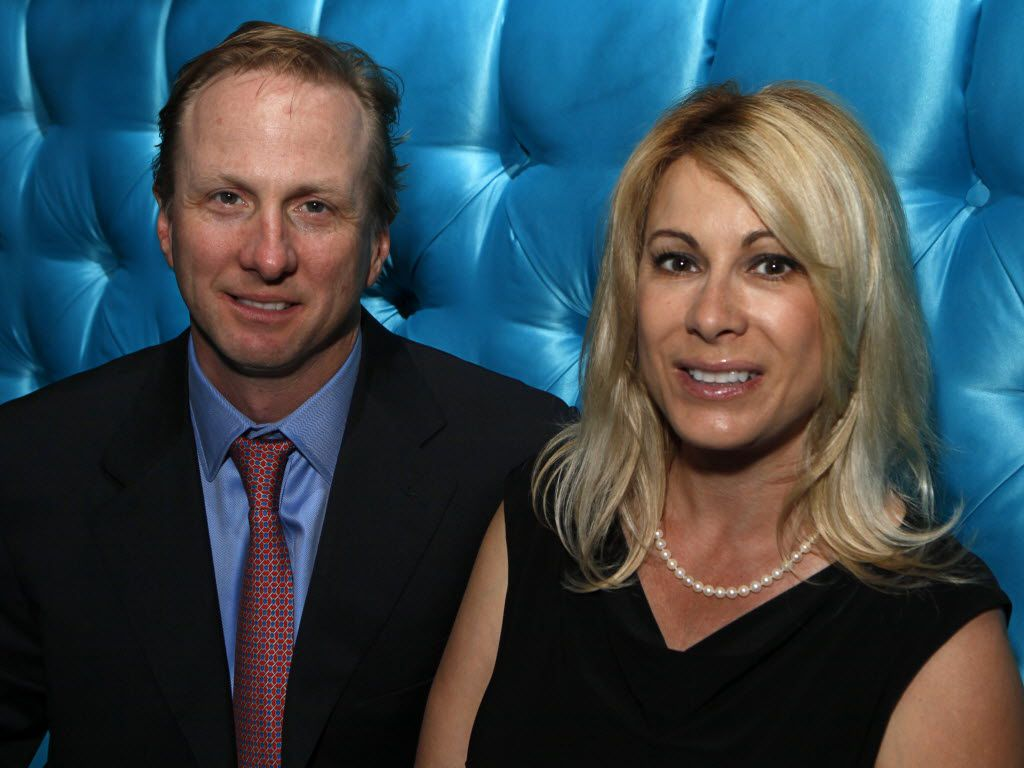Vaughn and Dena Miller at Winston's Supperclub in Oak Lawn in 2012.