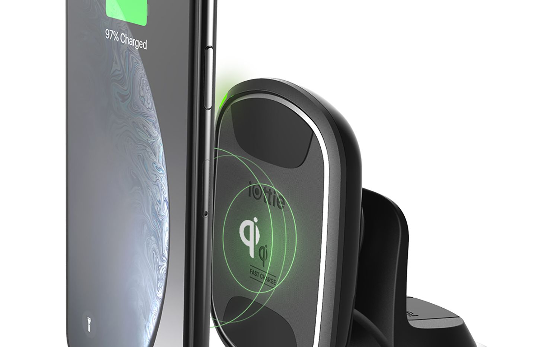 The iOttie iTap 2 WIreless Dashboard Mount