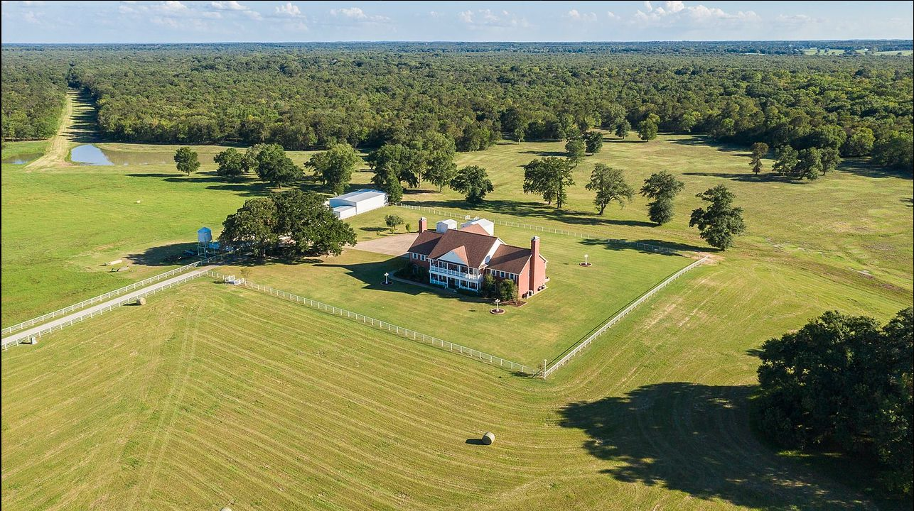 Foster Ranch near Grand Saline is 975 acres.