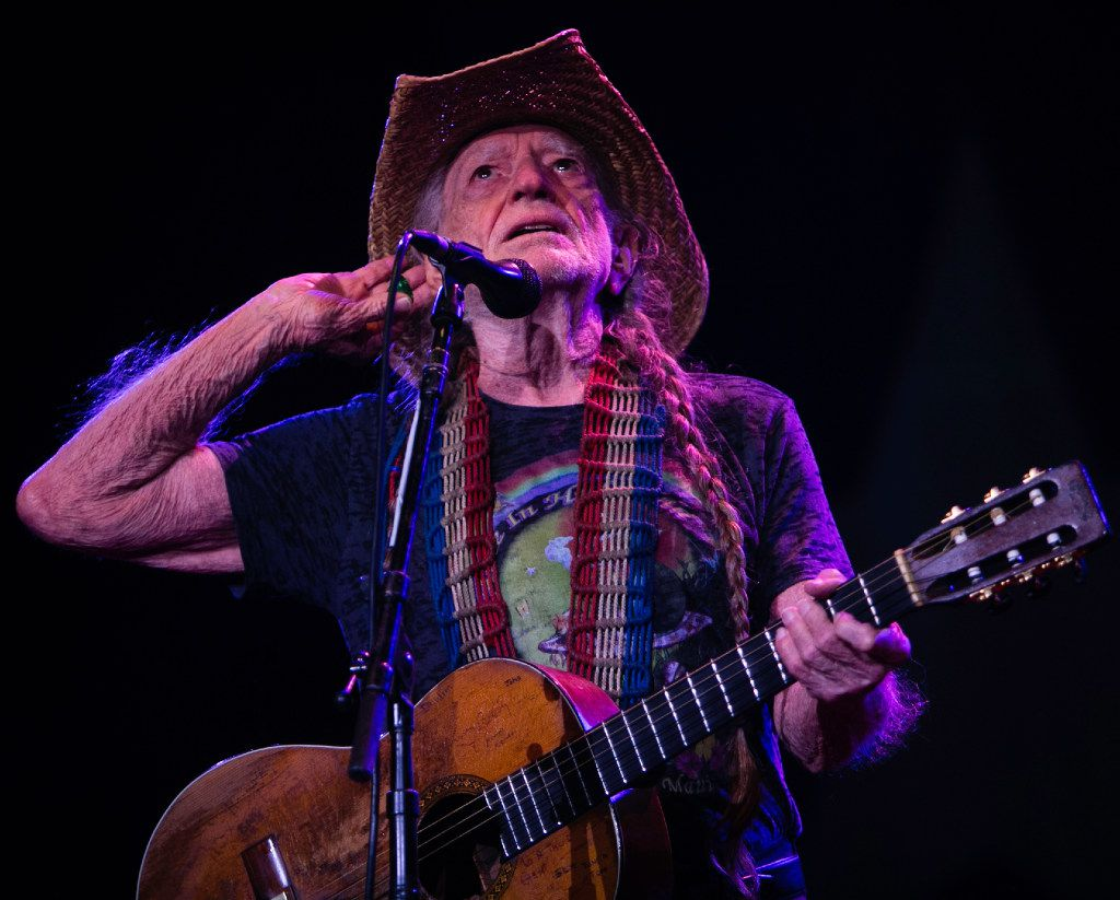"Willie Nelson performs during the Outlaw Music Festival 2017. Nelson usually encourages the audience finish the lyrics to popular songs songs, such as ""Mammas Don't Let Your Babies Grow Up to Be Cowboys."""