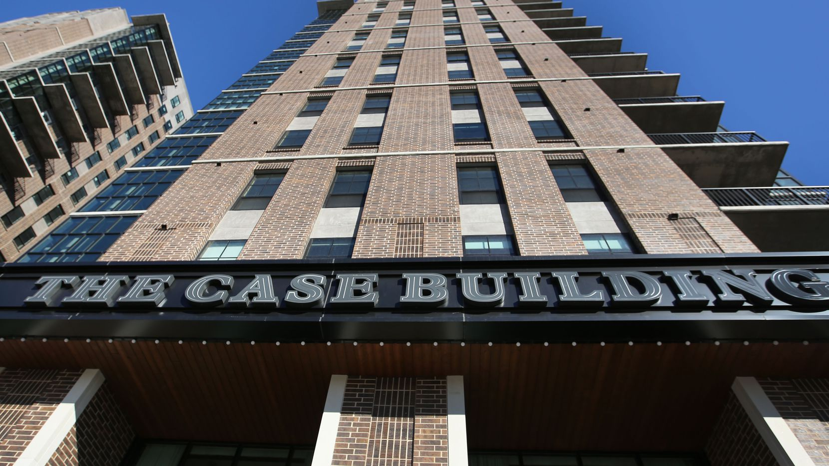 The exterior of the Case Building at  3131 Main St. in Deep Ellum in Dallas.