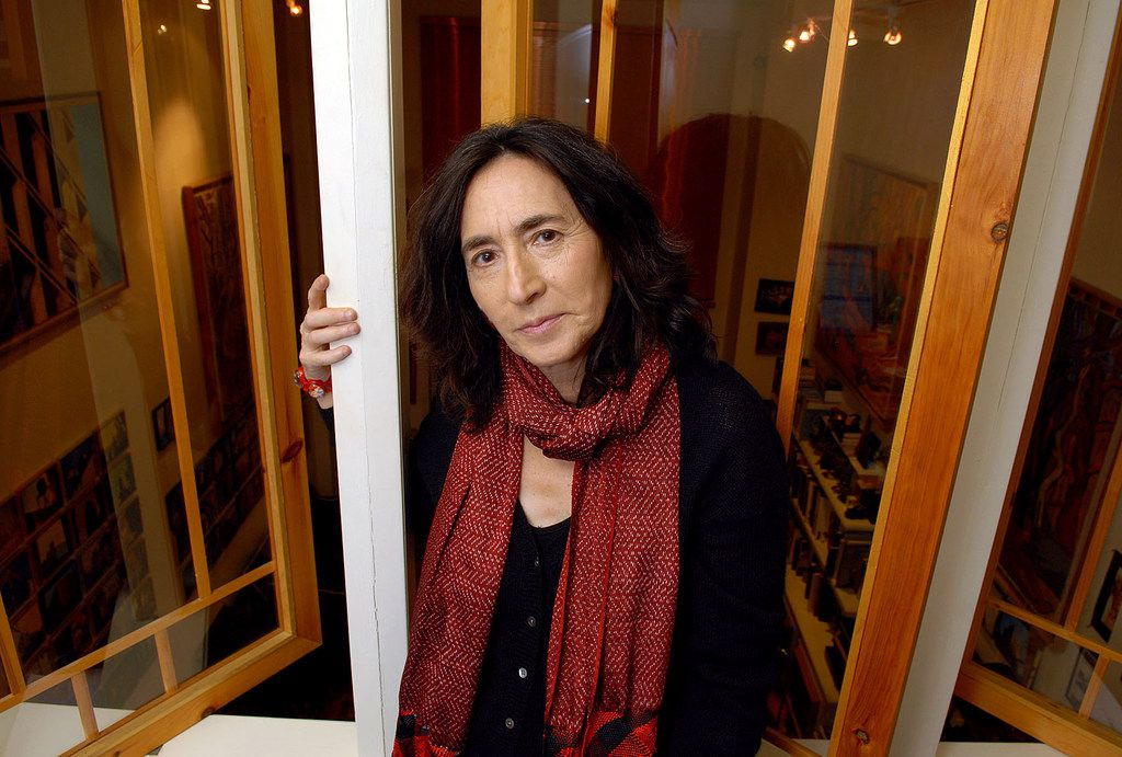 In this 2007 file photo, writer Francine Prose poses in her Greenwich Village apartment.
