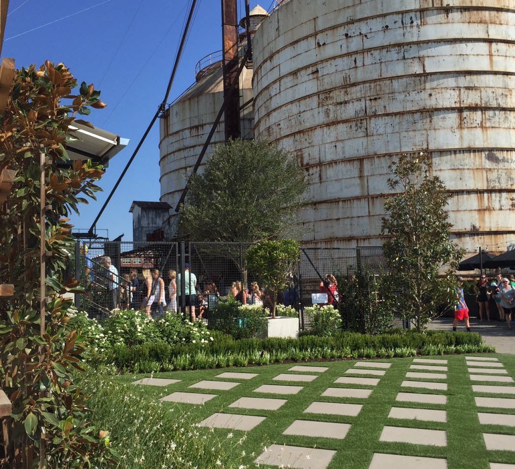 A view of the new entrance at Magnolia Market at the Silos in Waco.