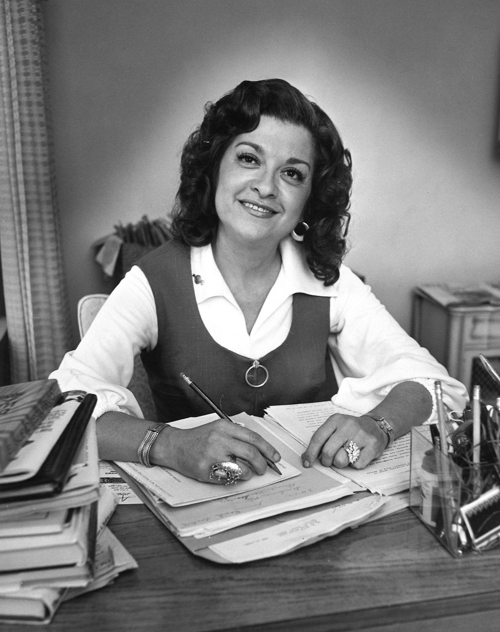 Anita N. Martínez fue la primera hispana en ser concejal de Dallas, en 1972. DMN