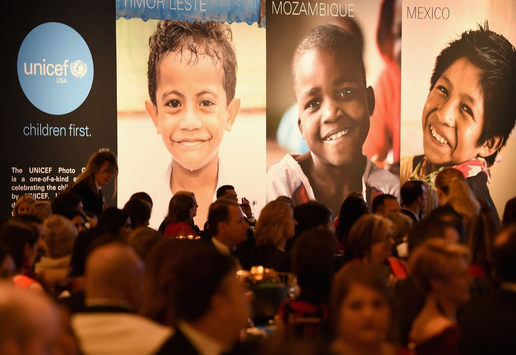 The UNICEF Gala was held at The Ritz-Carlton in Dallas on Feb. 3.
