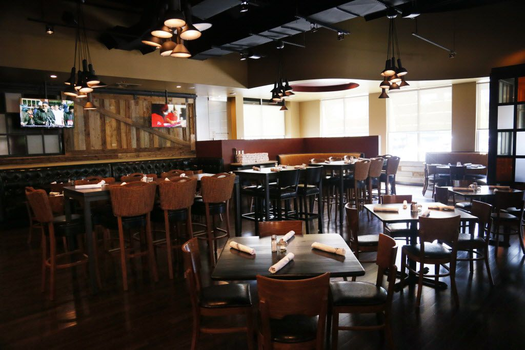 A dinning area of Hickory by Kent Rathbun in Plano, TX on Thursday, June 4, 2015. (Kye R. Lee/The Dallas Morning News)