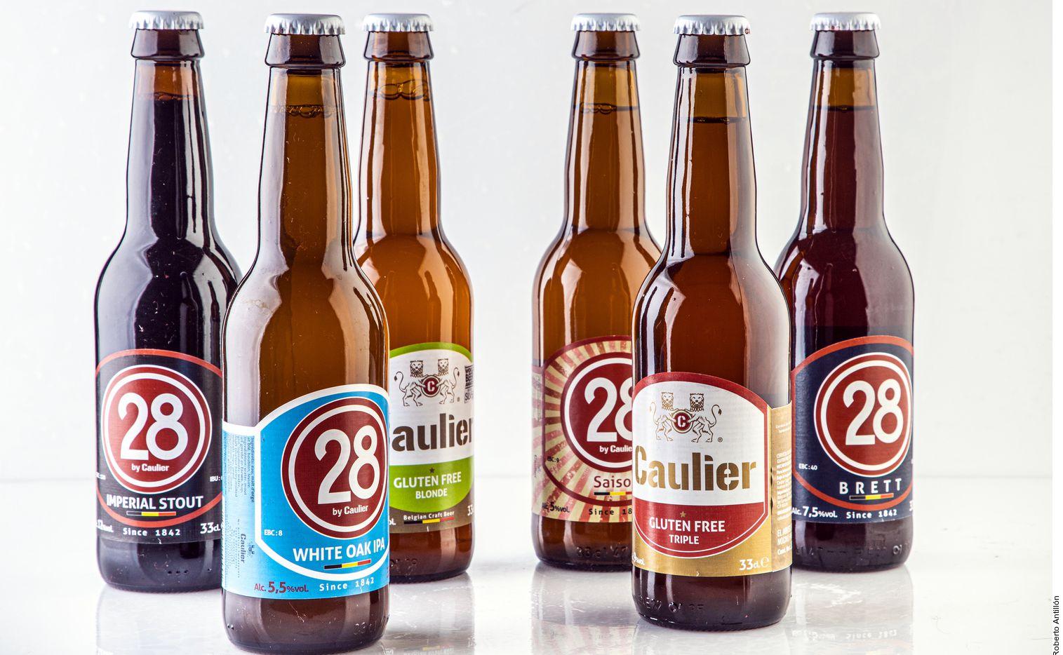 En su línea se encuentran opciones tradicionales belgas, nuevas tendencias y cervezas de alta graduación alcohólica, dos de ellas sin gluten. (AGENCIA REFORMA)