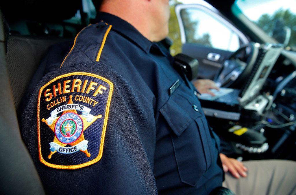 Collin County Sheriff's deputies patrol Collin County on Tuesday.