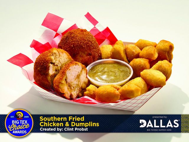 Southern Fried Chicken & Dumplins.