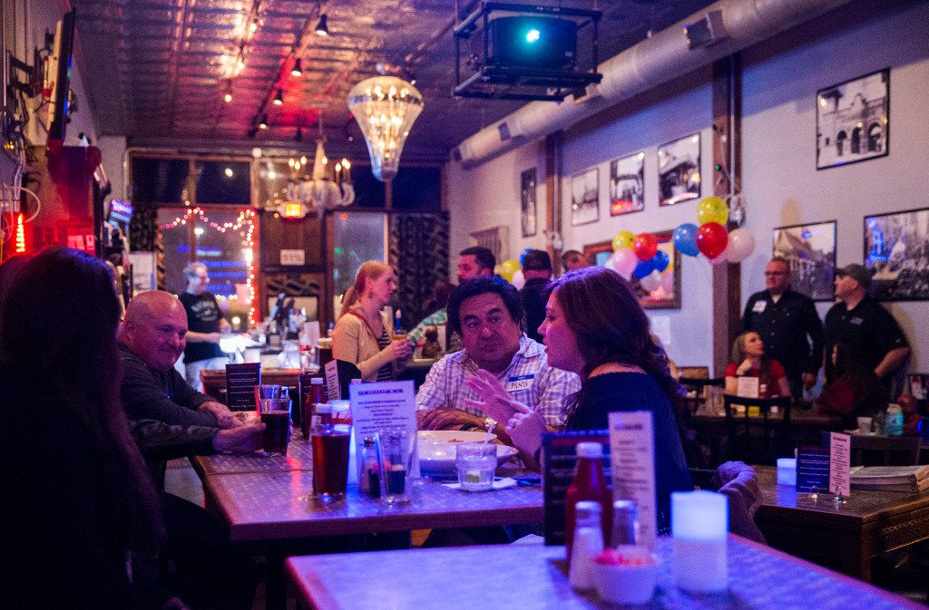 Expo Bar Dallas across the street from Fair Park on Saturday, January 28, 2017 on Parry Avenue in Dallas.