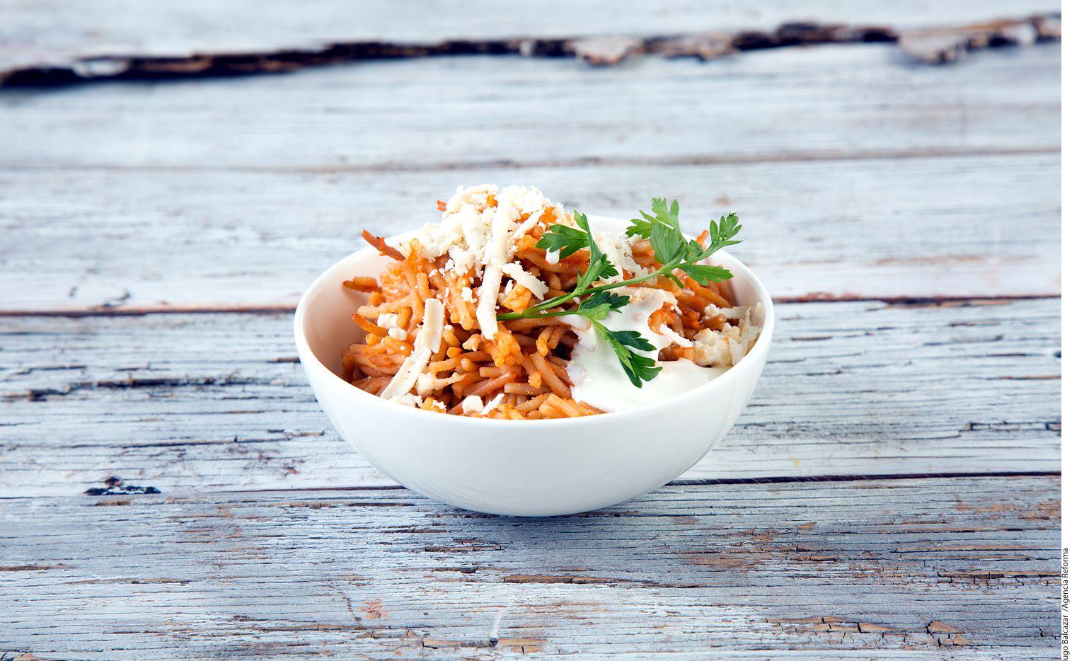 Este fideo seco es fácil de preparar, suculento y nutritivo. Foto AGENCIA REFORMA