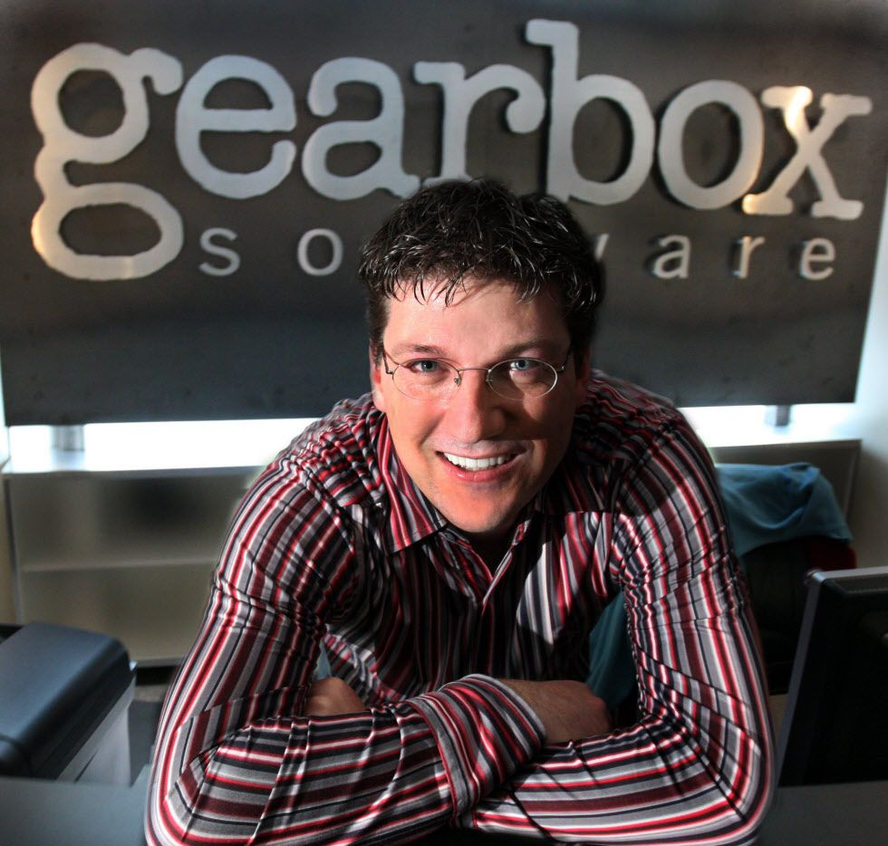 Gearbox Software's Randy Pitchford back in 2008