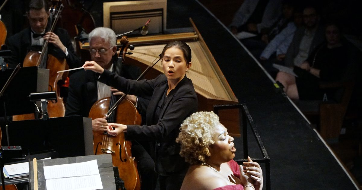 What city is leading the world for women conductors? It ain't Paris or Vienna
