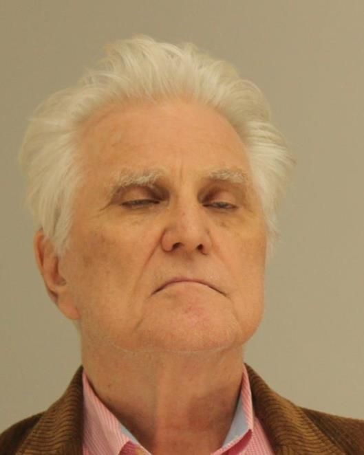 William Neil Gallagher, 78, in his mug shot released by the Dallas County Sheriff's department.