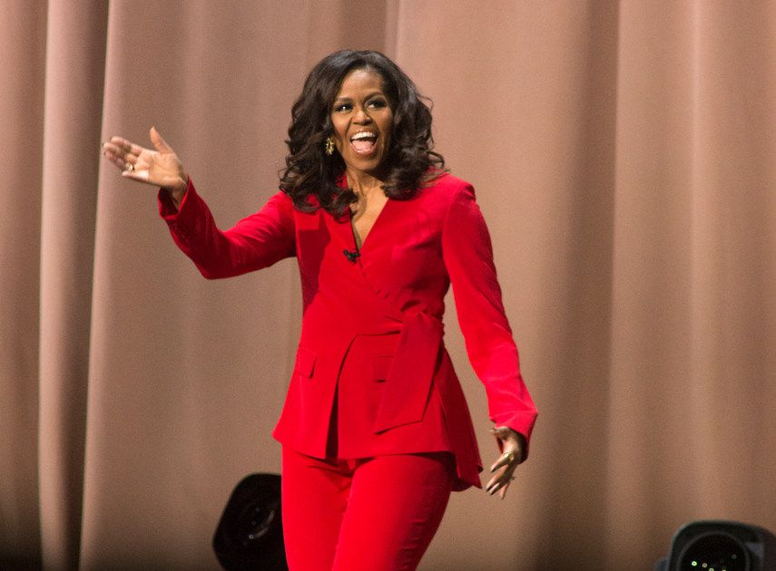 Chances are that when Michelle Obama shows up in Dallas on Monday she'll be wearing pants — here's why