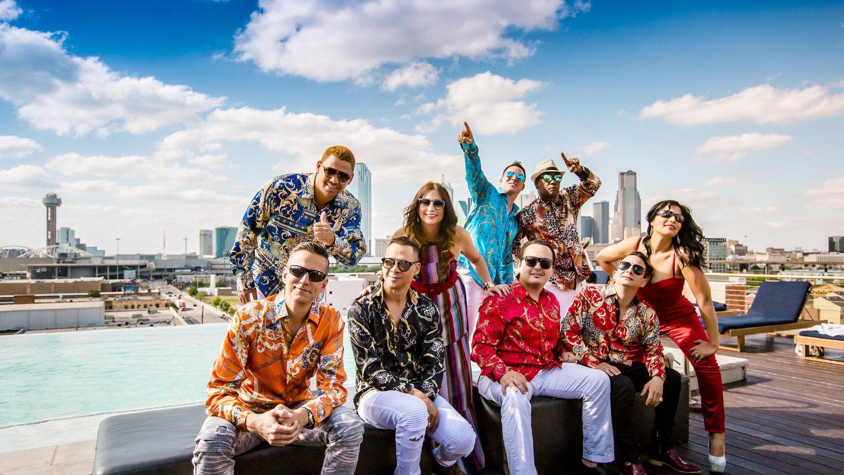 La banda Havana NRG, formada el 31 de julio de 2002 en Dallas, tiene miembros de Cuba, Puerto Rico, México y Estados Unidos.(CORTESÍA NRG)