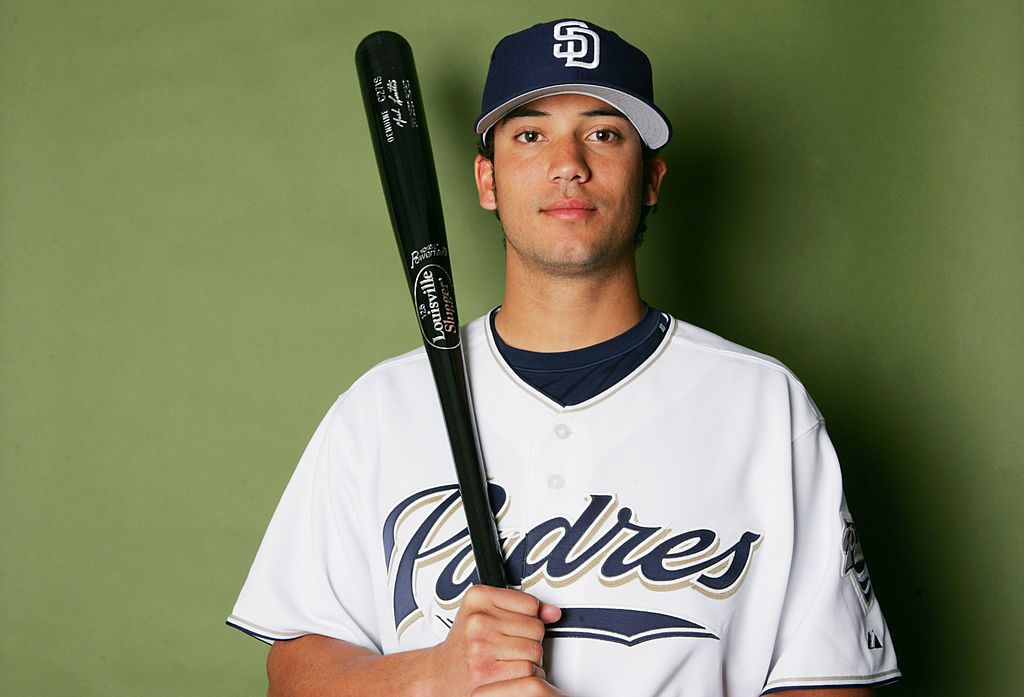 Matt Bush poses for a portrait during the San Diego Padres Photo Day at Peoria Stadium on February 26, 2006 in Peoria, Arizona.  (Photo by Ronald Martinez/Getty Images)